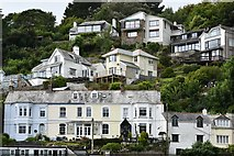 SX2553 : Houses in West Looe by Michael Garlick