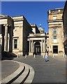 NS5965 : Northwest corner of Royal Exchange Square, Glasgow by Robin Stott