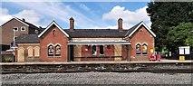 SK3281 : Dore & Totley Station by Chris Morgan