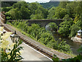 SJ1943 : Berwyn Station and King's Bridge by Stephen McKay