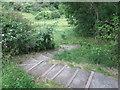 NZ3473 : Steps at the Brierdene, Whitley Bay by Geoff Holland
