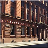 NS5965 : Red sandstone! Virginia House, Wilson Street, Glasgow by Robin Stott