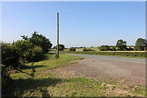 SP9064 : Field entrances by the A509, Wollaston by David Howard