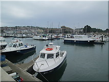 SY6778 : Weymouth Harbour by David Weston