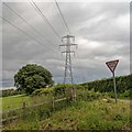 NH4653 : New pylon line above the Fairburn Road by valenta
