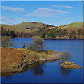 SN8988 : A Llyn Clywedog scene by Andrew Hill