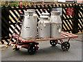 SE0539 : KWVR: Milk Churns at Ingrow West by David Dixon