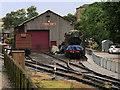 SE0539 : KWVR: Engine Shed at Ingrow West by David Dixon