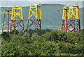 J3575 : Wind turbine parts, Harland & Wolff, Belfast (July 2019) by Albert Bridge