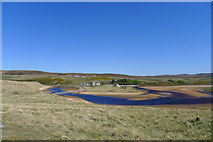 NC8864 : The Halladale River reaching the sea at Bighouse by Tim Heaton