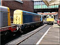 SD8010 : Diesels at Bury by David Dixon