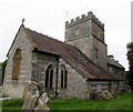 SY5997 : Northeast side of St Mary's Church, Maiden Newton by Jaggery