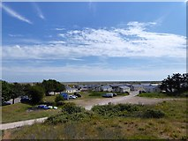 TQ9418 : Rye Harbour Holiday Park by Simon Carey
