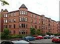 NS5567 : Tenement building, 21st century style by Alan Murray-Rust