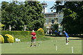 TQ1352 : Croquet on the lawn at Polsden Lacey by Peter Jeffery
