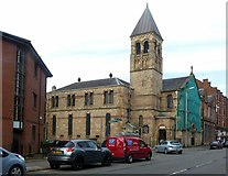 NS5565 : St Andrew's RC Church, Govan by Alan Murray-Rust