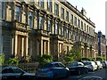 NS5866 : Sunlight on Breadalbane Terrace, Hill Street, Garnethill, Glasgow by Alan Murray-Rust