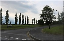 SU2560 : Grafton Place, East Grafton by David Howard