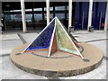 J3474 : Tiled pyramid outside the Odyssey Entertainment Centre by Oliver Dixon