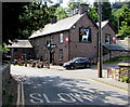 SO1122 : West side of the White Hart Inn, Talybont-on-Usk  by Jaggery