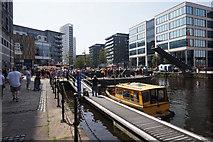 SE3032 : Water taxi at Leeds Dock, Leeds by Ian S