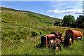 NG7042 : Tractor, Camustiel by Mick Garratt