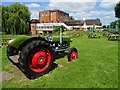 SP0856 : A Ferguson tractor and Arrow Mill Hotel by Philip Halling