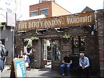 J3474 : The Dirty Onion and Yardbird by Oliver Dixon