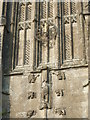 ST6839 : Features on the tower of St Mary's by Neil Owen