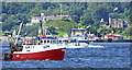 """NS1776 : Fishing boat """"Guide Us"""" in the Firth of Clyde by Thomas Nugent"""