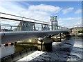 J3474 : Lagan weir and footbridge by Oliver Dixon