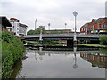 ST2224 : Taunton: a changed view of the bridge by John Sutton