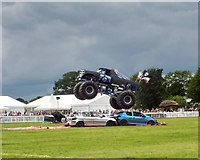 SJ7177 : Monster Truck display at the Royal Cheshire County Show 2019 by Jeff Buck