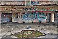 NJ2867 : Gun emplacement bunker by Mick Garratt