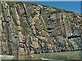 NC4465 : Rocky headland, Tràigh Allt Chàilgeag by Mick Garratt
