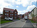 SJ7661 : South end of Comma Road, Sandbach by Stephen Craven