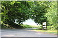 SU3062 : The entrance to Tyler Hardwoods, Shalbourne by David Howard