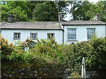 NY3204 : Elterwater houses [2] by Michael Dibb