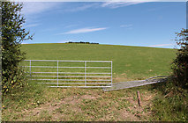SD5273 : A walk along Kirkgate Lane: views from the highest point (12a) by Kate Jewell