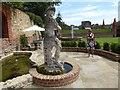 TQ7468 : In the formal garden at Restoration House by Marathon