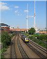 SK5739 : Towards Nottingham Station by John Sutton
