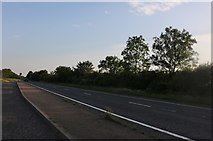 TL0075 : Layby on the A45, Denford Ash by David Howard