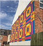 TA0828 : Mural, Coltman Street, Hull by Paul Harrop