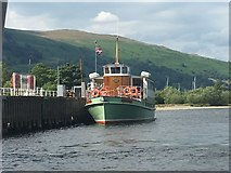 NY3916 : Lady Wakefield at Glenridding Pier by Graham Hogg