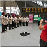 SJ8499 : WAST Nightingales at Victoria Station by Gerald England