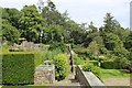 SE0661 : Terraced Gardens at Parcivall Hall by Chris Heaton