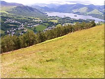 NY2723 : The views from Latrigg [1] by Michael Dibb