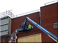 SO8754 : Worcestershire Royal Hospital - cherry picker by Chris Allen
