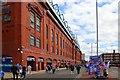 NS5564 : The Bill Struth Main Stand on Edmiston Drive at Ibrox Stadium by Steve Daniels