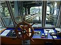 SJ6475 : Anderton boat lift - entering the aqueduct by Stephen Craven